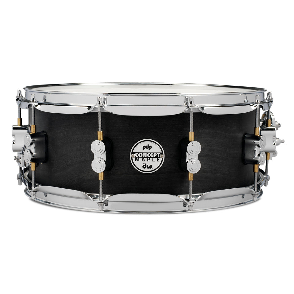 "PDP 14"" x 5.5"" Black Wax Maple Snare Drum"