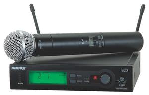 Shure SLX24/SM58 Wireless System With SM58 Microphone