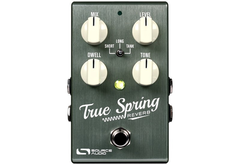 Source Audio True Spring Reverb With Tap Switch Pedal