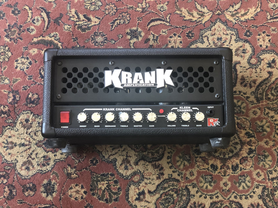 Krank Amplification Rev JR Pro 50W Guitar Amplifier Head - USED