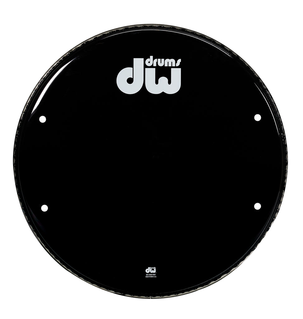 Drum Workshop 20-Inch Bass Drum Head - Gloss Black