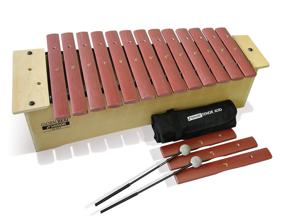 Sonor Orff AX-GBF Alto Xylophone - Fiberglass Bars, Global Beat Series