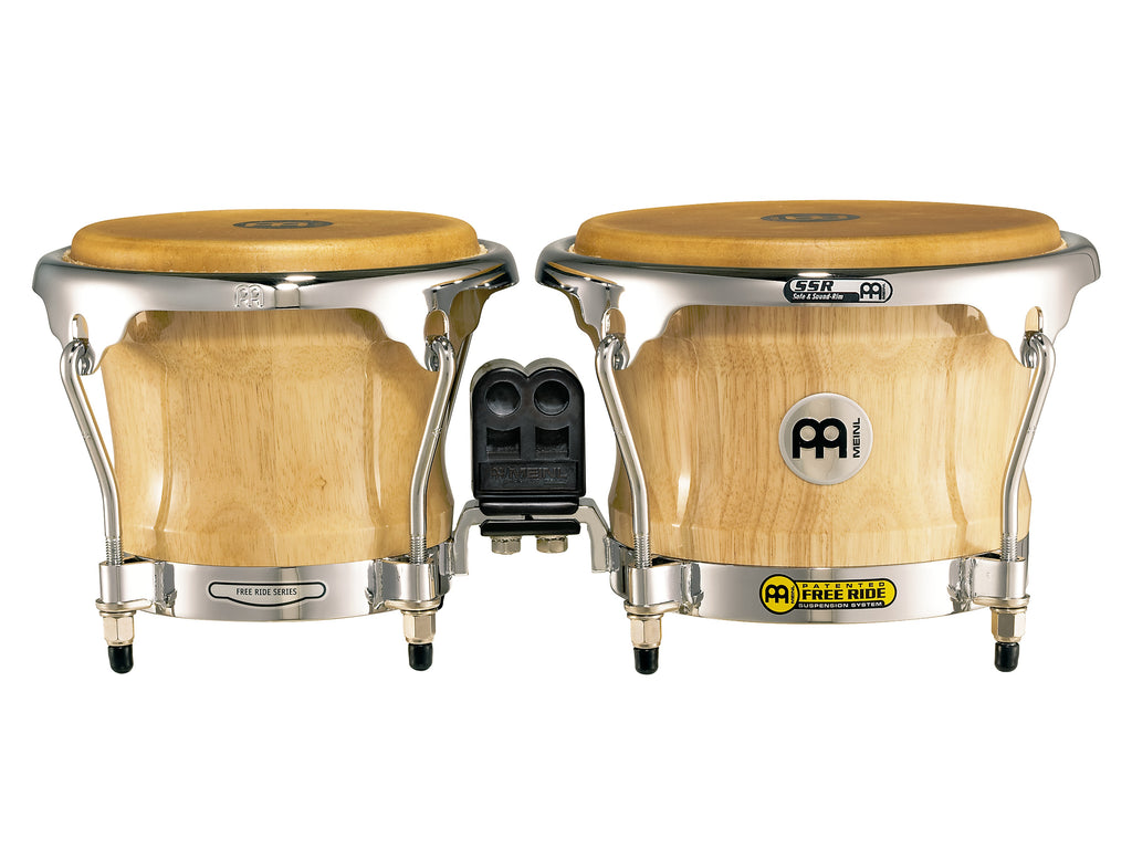 Meinl FWB400NT Professional Series Wood Bongos - Natural