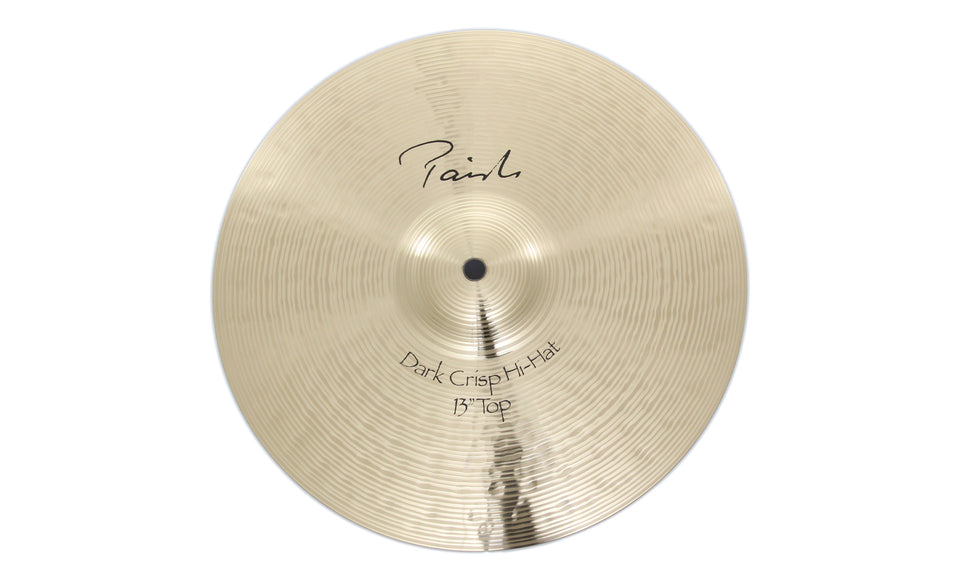 "Paiste 13"" Signature Dark Crisp Hi-Hat Top Cymbal"