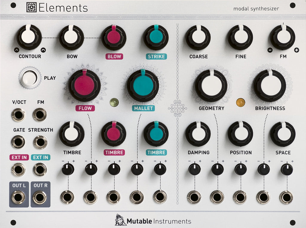 Mutable Instruments Elements Modal Synthesizer Eurorack Module