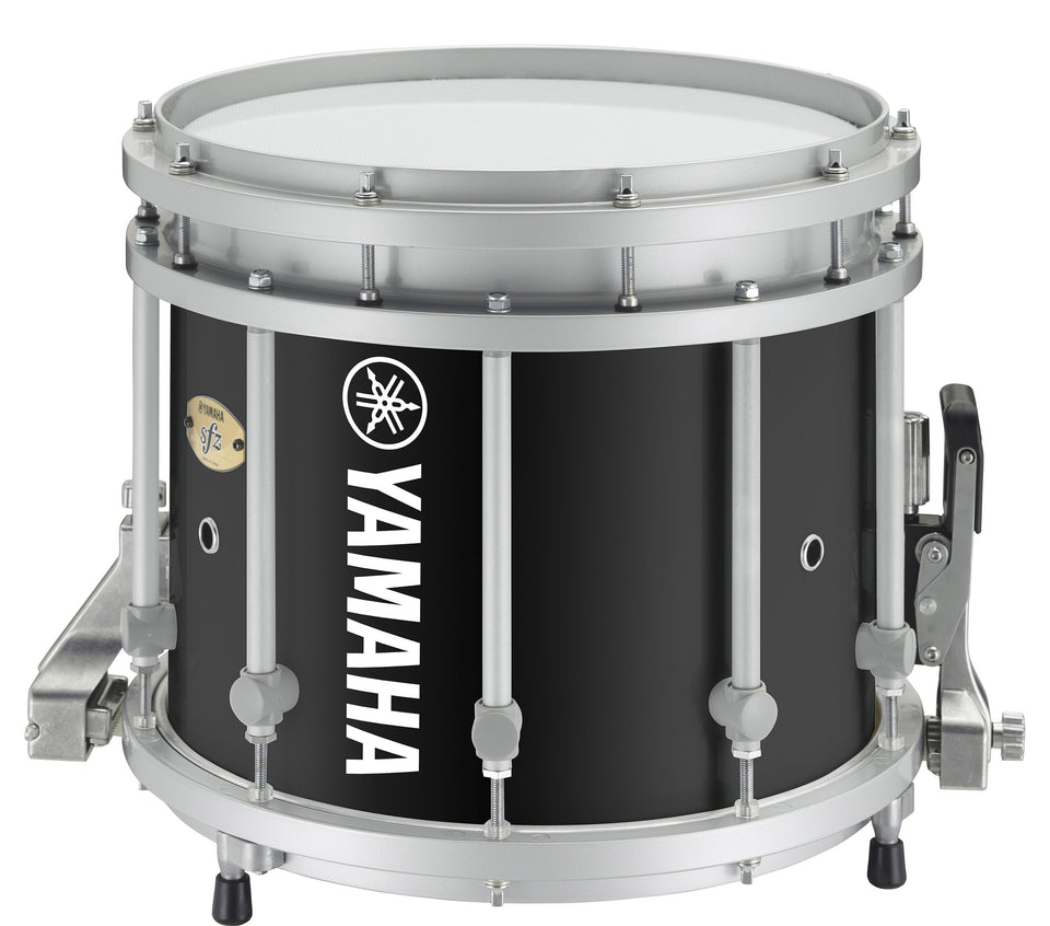 "Yamaha MS-9314 14"" x 12"" SFZ Marching Snare Drum - Black Forest"