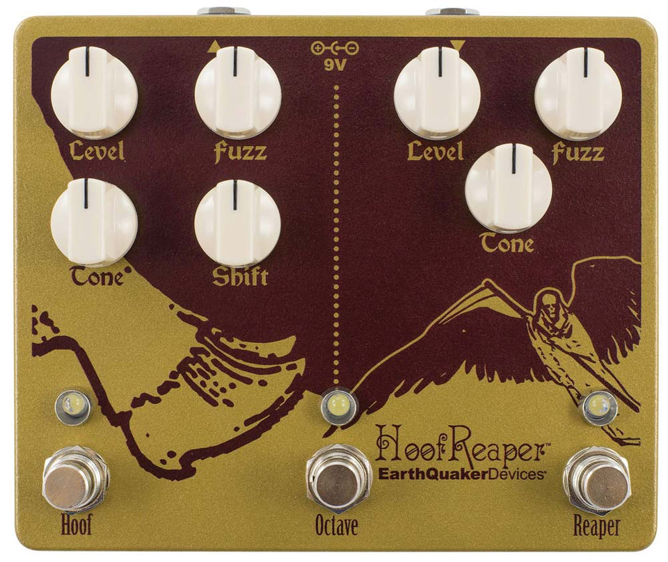 EarthQuaker Devices Hoof Reaper V2 Dual Fuzz With Octave Up Pedal