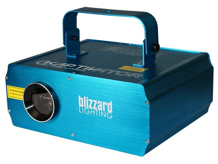 Blizzard KAPTIVATOR 3D RGB Laser Effect Light