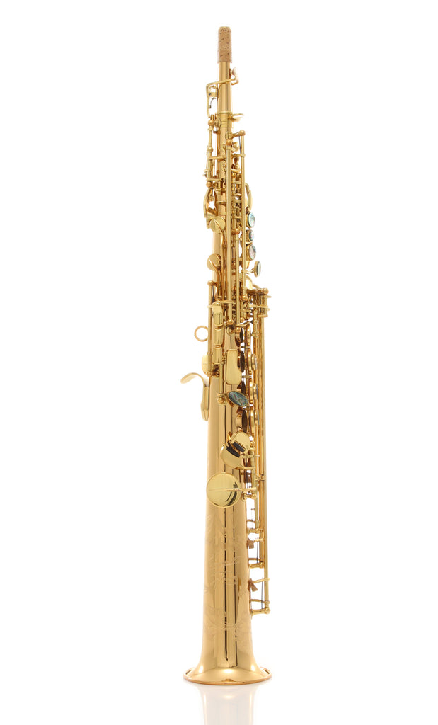 P. Mauriat System-76 2nd Edition Soprano Saxophone - Gold Lacquer