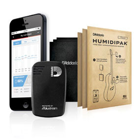 D'Addario Planet Wave Humidikit/Humiditrak/Humidipak Bundle