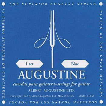 Augustine AUGBLUSET Guitar String Set Blue