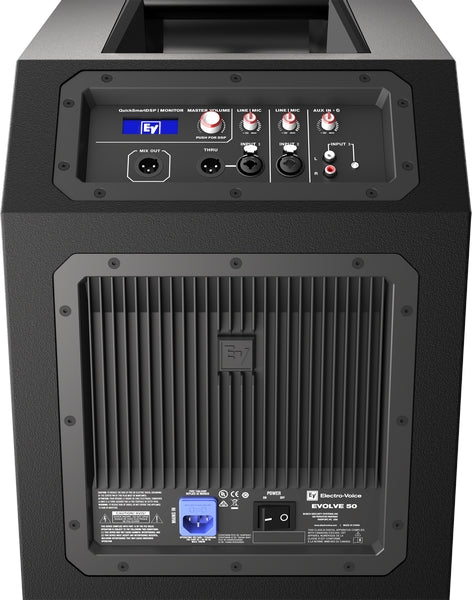 Electro Voice Evolve50 Portable 1000W Bluetooth Enabled Subwoofer