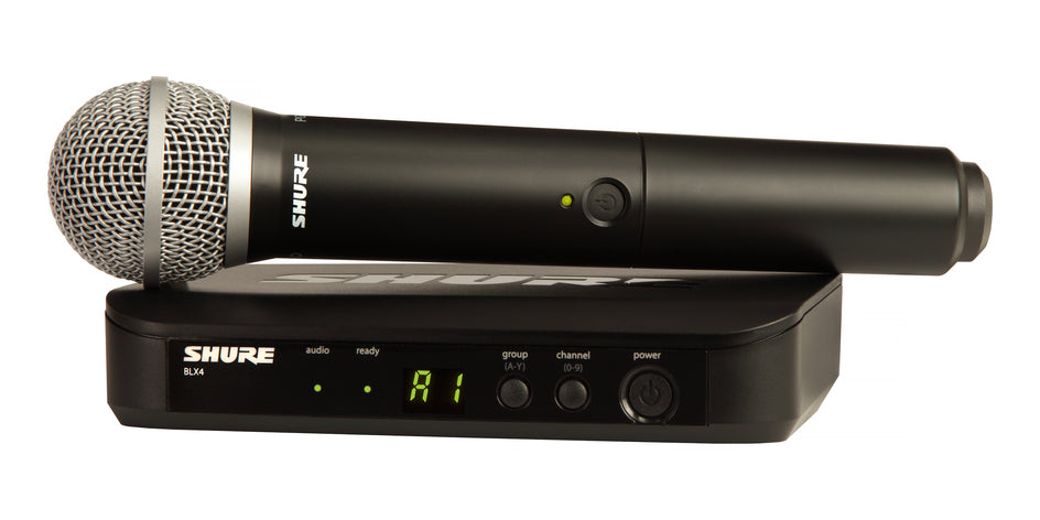 Shure BLX24/PG58 Handheld Wireless Microphone System - H9 Band