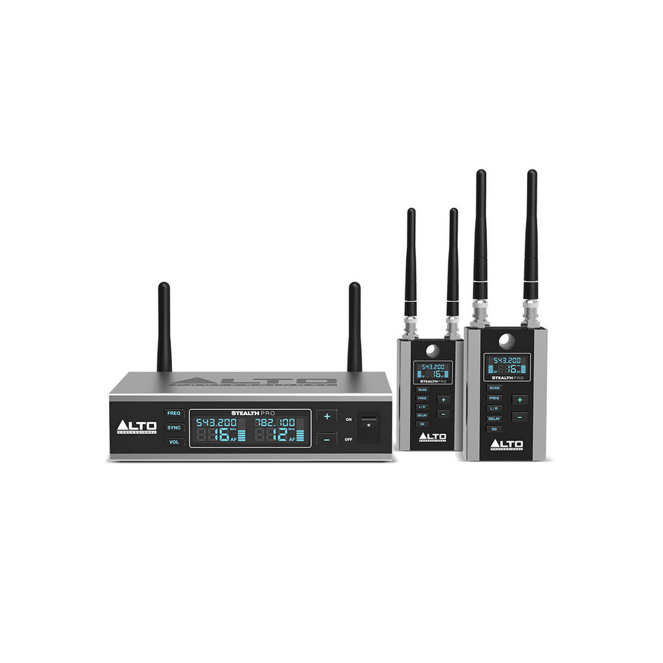 Alto Professional Stealth Pro 2-Channel Wireless Audio System