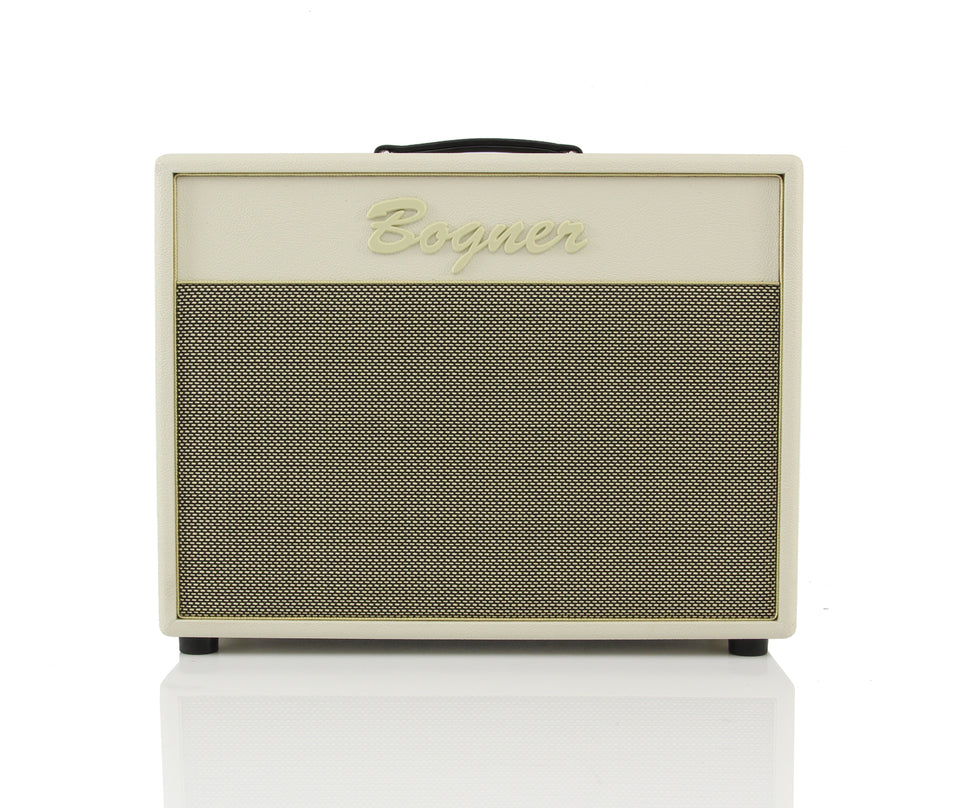 Bogner 112CPS 1x12 Guitar Cabinet, Shiva Size - Ivory