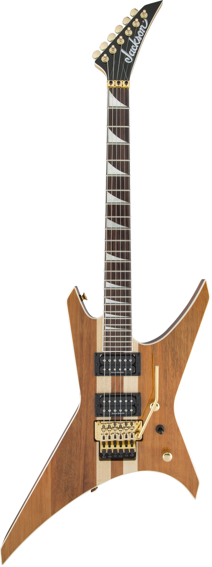 Jackson X Series Warrior WRX24 Natural Electric Guitar With Rosewood Fingerboard