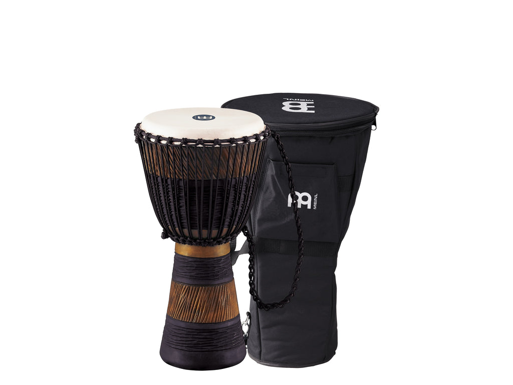 "Meinl ADJ3-M BAG Original African Style Rope Tuned Wood Djembe 10"" + Bag"