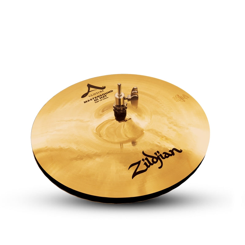 "Zildjian 13"" A CUSTOM Mastersound Hi-Hat Cymbal Top"