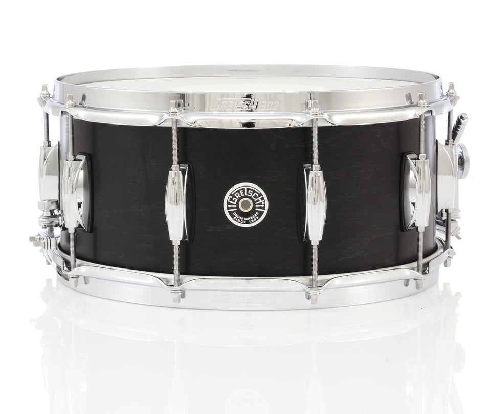 "Gretsch 14"" x 6.5"" Brooklyn Snare Drum - Ebony Stain"