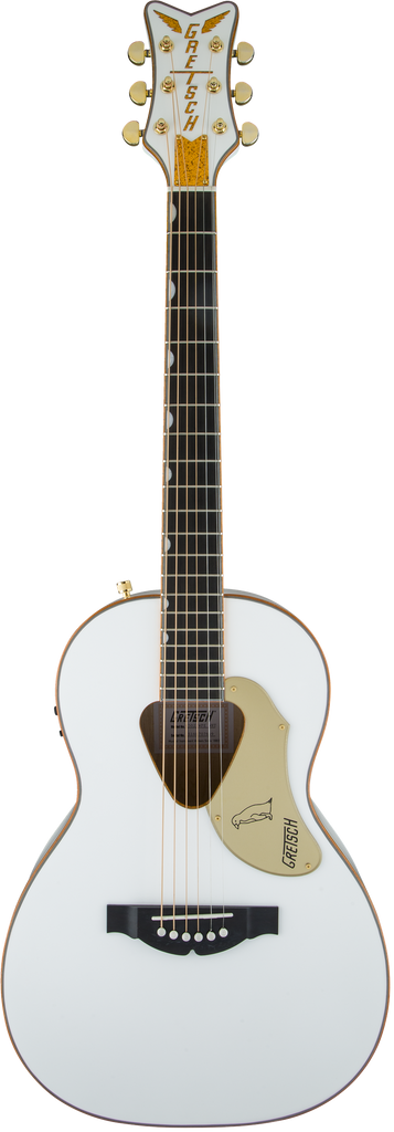 Gretsch G5021WPE Rancher Penguin Parlor Acoustic Electric Guitar - White