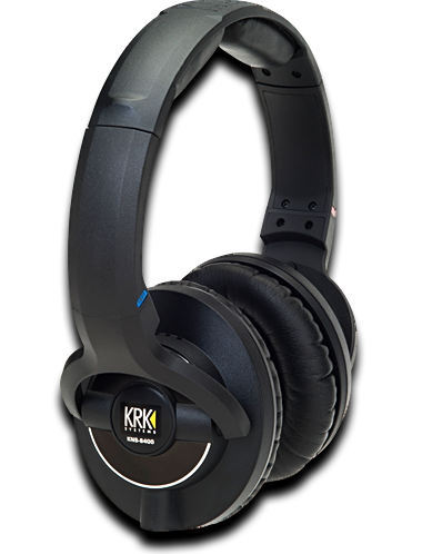 KRK KNS 8400 Closed-Back Circumaural Reference Headphones
