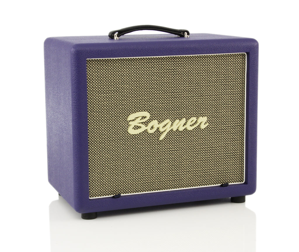 "Bogner 112CP 1x12"" Closed Back, Dual Ported Cube Guitar Cabinet - Custom Purple"