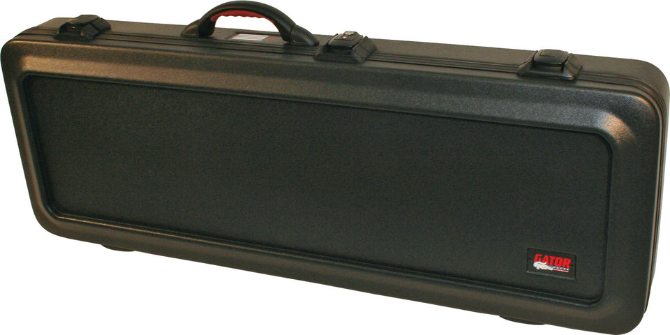 Gator GPE-ELEC-TSA ATA Molded Military-Grade PE Case With TSA Latches For Electric Guitars