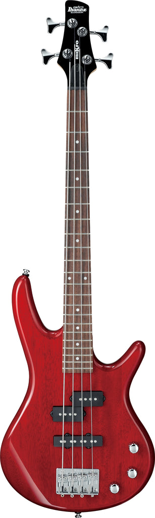 Ibanez GSRM20TR miKro Short-Scale Electric Bass - Transparent Red