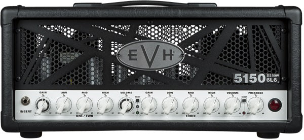 EVH 5150III 50W 6L6 Guitar Amplifier Head - Black