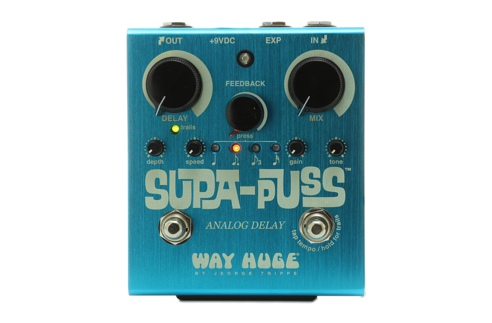 Dunlop WHE707 Way Huge Supa-Puss Analog Delay Pedal