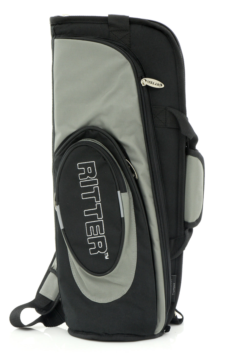 Ritter Classic Trumpet Gig Bag - Black/Steel Grey