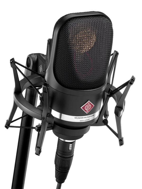 Neumann TLM 107 Multipattern Condenser Microphone With EA4 Shock Mount - Black