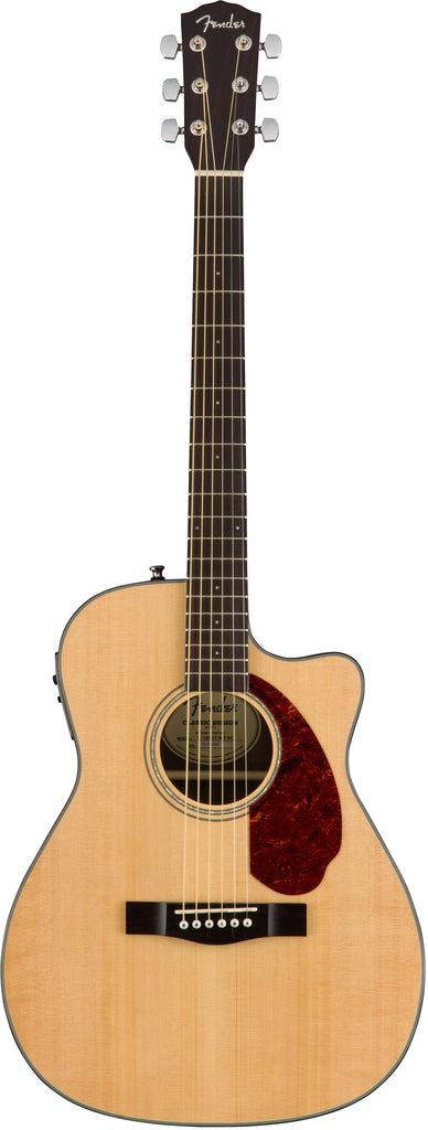 Fender CC-140SCE Acoustic Electric Guitar Concert Size W/Case