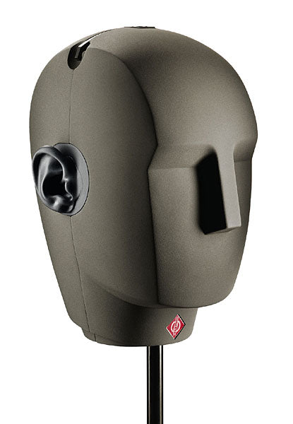 Neumann KU 100 Dummy Head Binaural Stereo Microphone W/ Power Supply, Cables & Case