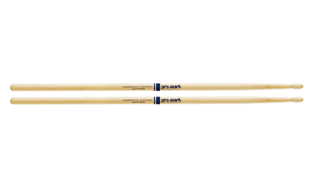 Promark TXJRW Hickory JR Junior Wood Tip drumstick