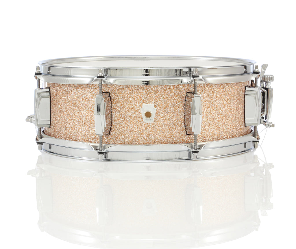 "Ludwig 14"" x 5"" Club Date Snare Drum - Champagne Sparkle"