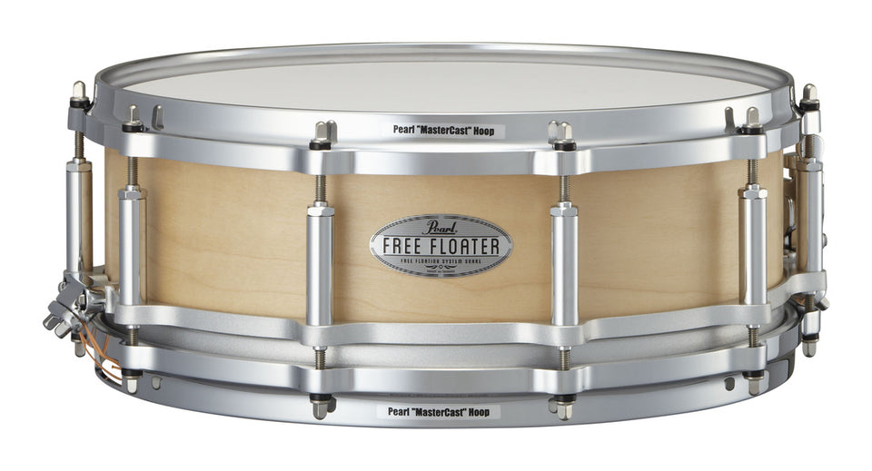 "Pearl 14"" x 5"" Maple Free Floating Snare Drum"