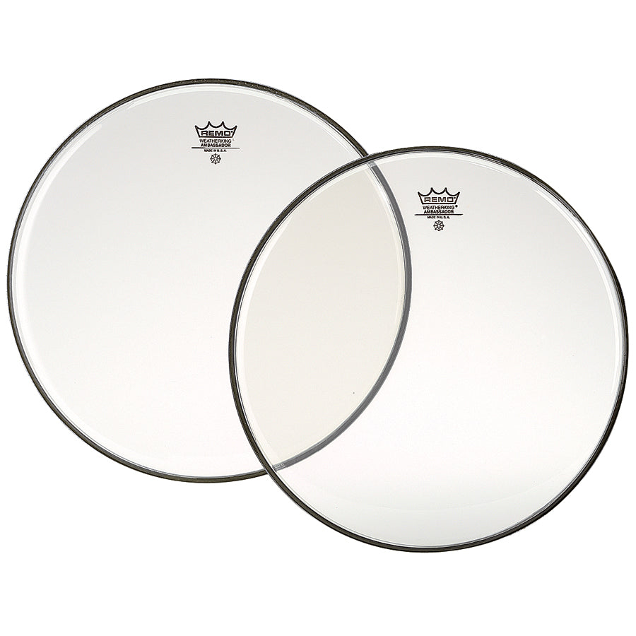 "Remo 20"" Clear Ambassador Drum Head"