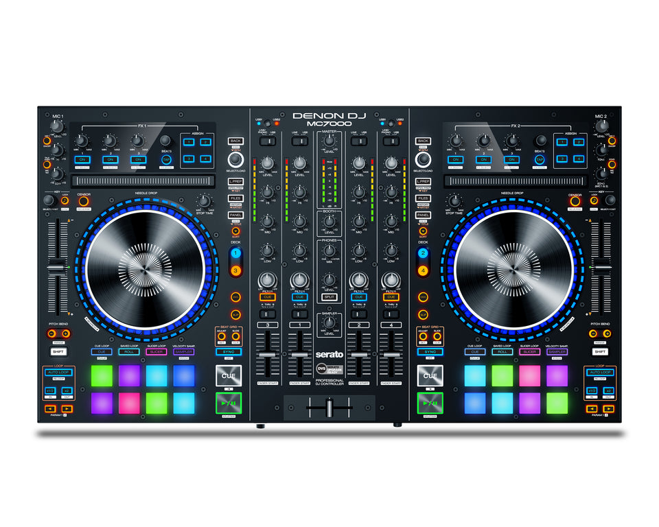 Denon DJ MC7000 4-Channel DJ Controller with Digital Mixer