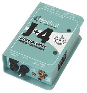 Radial Engineering J 4 Balanced -10dB to 4dB Signal Driver