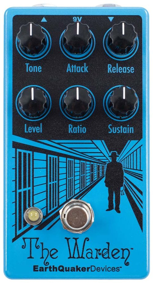 EarthQuaker Devices Warden Optical Compressor V2