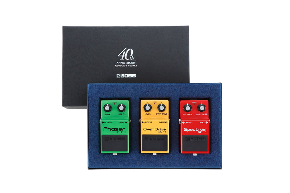 Boss BOX-40 Compact Pedal 40th Anniversary Box Set