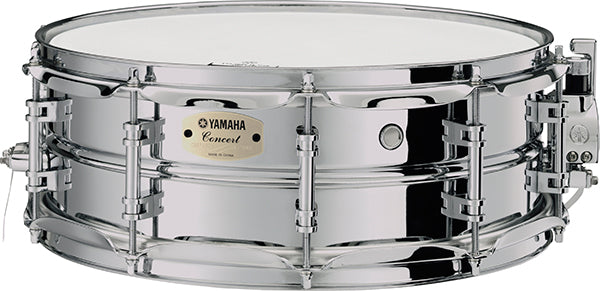 "Yamaha CSS-1450A 14"" x 5"" Concert Chrome-Plated Steel Shell Snare Drum"
