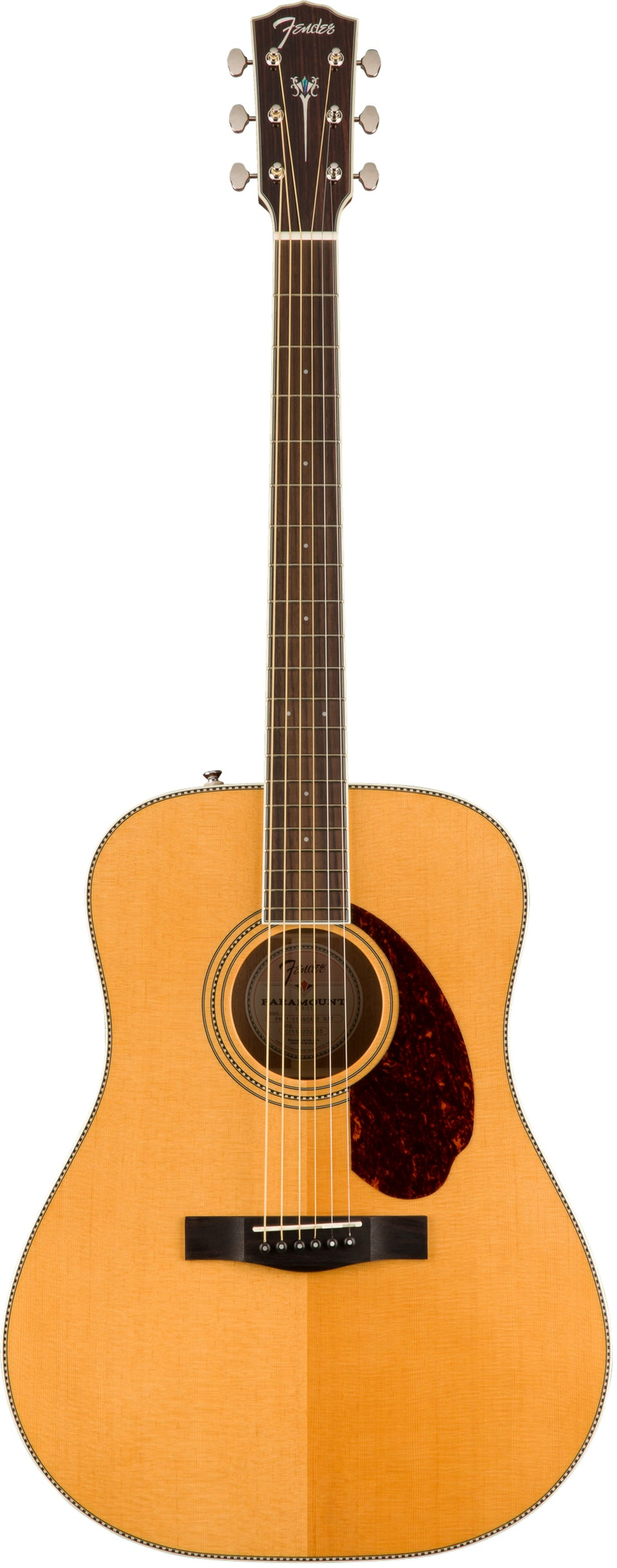 Fender PM-1E Standard Dreadnought Acoustic Electric Guitar - Natural