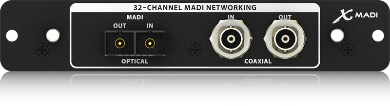 Behringer X-MADI High-Performance 32-Channel MADI Expansion Card for X32