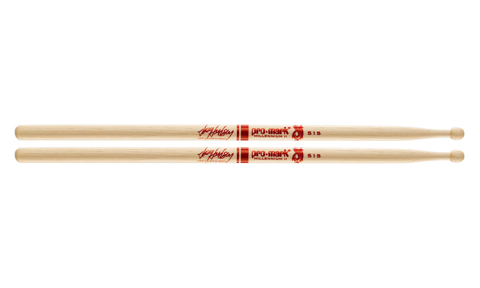Promark TX515W Hickory 515 Joey Jordison Wood Tip drumstick