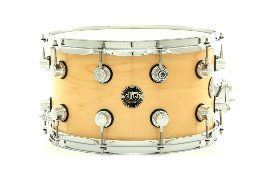 "DW 14"" x 8"" Performance Series Snare Drum Natural Lacquer Finish"