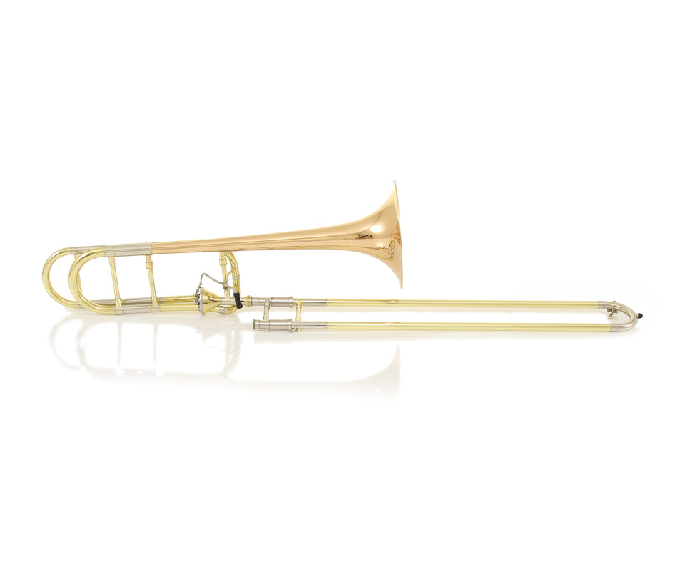 Getzen 3047AFR Custom Series Large Bore Tenor Trombone W/ Red Brass Bell