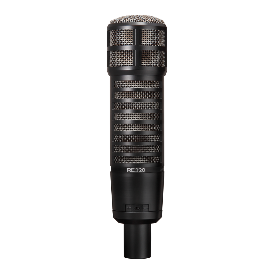 Electro-Voice RE320 Variable-D dynamic cardioid microphone for vocals and instruments.