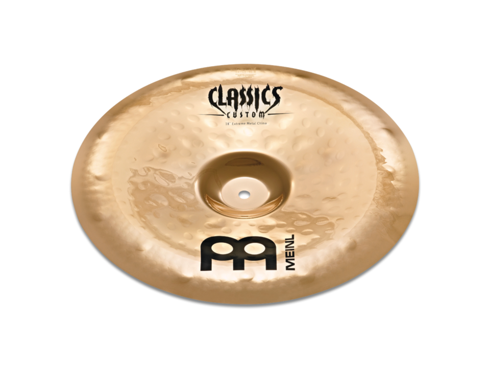 "Meinl 18"" Classics Custom Extreme Metal China Cymbal"
